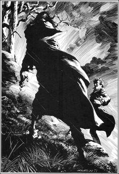 Bernie Wrightson, illustration's for Shelley's Frankenstein