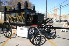 Horse Drawn Hearse from Haben Funeral Home | Flickr - Photo Sharing!