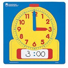 Several time activities for teaching time to the hour and half hour, including directions and templates for making a fun clock hat that kids will love!