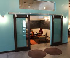 glass doors rabble + rouser | Xan Creative