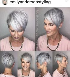 Like the haircut and why not?, also the color.