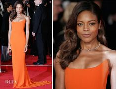 Naomie Harris In Stella McCartney – 'Spectre' London Premiere