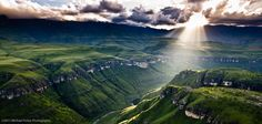 God's Rays in South Africa