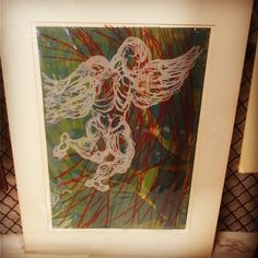 Rosemary Zwick 1969 Signed Matted Litho $25  #mercantile_m #MercantileM #Andersonville