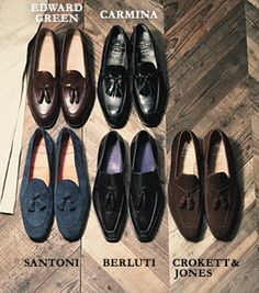 EDWARD GREEN CARMINA SANTONI BERLUTI CROKETT & JONES