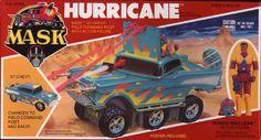 mask hurricane | Kenner MASK HURRICANE BOX FRONT