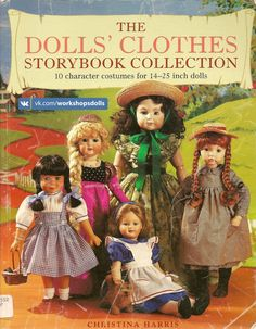 The Dolls' Clothes Storybook Collection – 122 фотографии