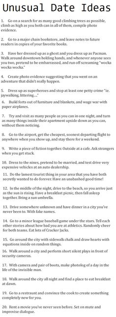 "should be titled ""awesome date ideas"""