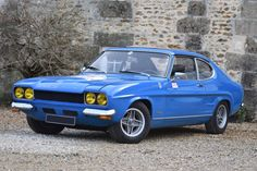 Rétromobile 2019 The Official Sale Classic Sports Cars, Classic Cars, Ford Capri, Ford Escort, Mk1, Cars And Motorcycles, Cool Cars, Old School, Transportation