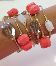 Wire & Stone Bracelets available at all 4 Excentricities locations and at Excentricities.com
