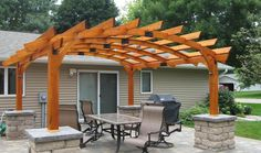 Image result for wooden shade houses/ pergola