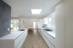 Keuken on pinterest interieur google and met - Witte quartz werkblad ...