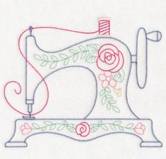 Excellent Snap Shots embroidery designs free Tips Free Embroidery Design: Vintage Stitches Sewing Machine Hand Embroidery Patterns Free, Sewing Machine Embroidery, Learn Embroidery, Hand Embroidery Stitches, Crewel Embroidery, Embroidery Techniques, Sewing Patterns, Embroidery Ideas, Sewing Stitches