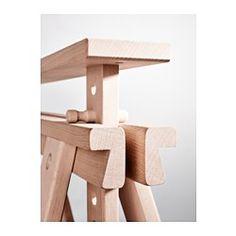 FINNVARD Pukkijalka+hylly, pyökki - 70x71/93 cm - pyökki - IKEA
