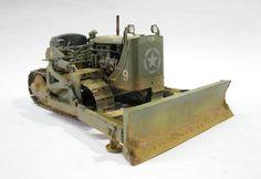 Used #MiniArt's Kit: 35195 U.S. ARMY BULLDOZER http://miniart-models.com/35195.htm Source: https://panzerserra.blogspot.com/2016_11_01_archive.html