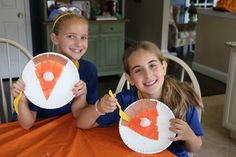 Thanksgiving Pie: Arts And Craft Project For Kids | Lady and the Blog
