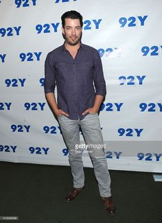 #HGTV Personality Jonathan Scott attends the 92nd Street Y Talk With Drew Scott at 92nd Street Y on April 5, 2016 in New York City.