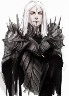 Explore the LOTR Hobbit collection - the favourite images chosen by on DeviantArt. Thranduil, Sauron Face, Dnd Characters, Fantasy Characters, Tolkien, Character Concept, Character Art, Das Silmarillion, Shadow Of Mordor