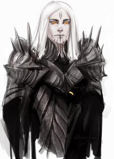 Sauron by anastasiyacemetery on deviantART