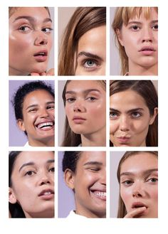 "playapleeth: "" campaign for Glossier's Boy Brow shot by moi the first campaign i've shot and it's pretty cute imo """