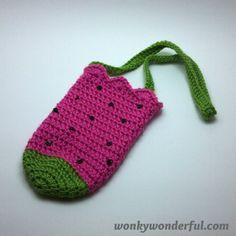 Drink Carrier - Free Crochet Pattern