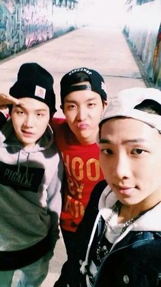 Suga, J-Hope, Rap Monster matched BTS' old concept so well... I hope they can revisit this concept soon...