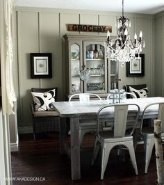 At Home With Shannon Acheson (A Beautiful Mess) Dining Room Inspiration, Home Decor Inspiration, Decor Ideas, Room Ideas, Decorating Ideas, Paint Colors For Home, House Painting, Ideal Home, Decoration