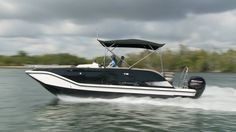 The Bayliner Element XR7 reached a top speed of 38.4 mph during our tests. @baylinerboats