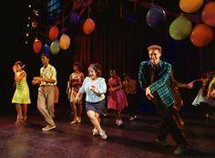 Corey Reynolds, Marissa Jaret Winokur and Matthew Morrison in Hairspray