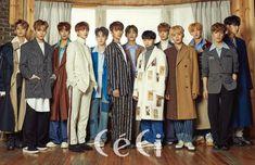 #세븐틴 #Seventeen as the cover for Ceci magazine January 2018 issue