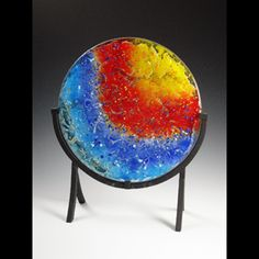 Come see returning glass artist Toni Palmer at the festival! Oct 19-20, Kentuck Park
