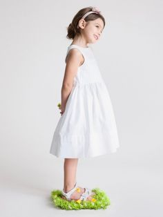1be8c65644ab7 Collection cortege Cyrillus 2015 l Robe demoiselle honneur blanche 49,90  euros l La Fiancée