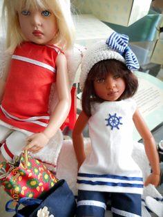 "Helen Kish Dolls ""Beach Girls"" Cassie and Buffy #DollswithClothingAccessories"
