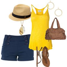 Simple summer outfit.