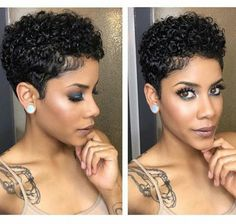 Black Women Short Hairstyles Stunning ❤️for More Pins ¥Ourmajesty  Shorthairbarbs  Pinterest  Short