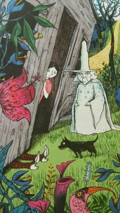 """""""The Wizard of Oz"""" illustrated by Sara Ogilvie."""
