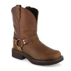 Justin Gypsy Women's Round Toe Harness Western Boots