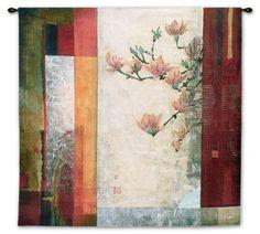 Manhattan Garden Wall Tapestry
