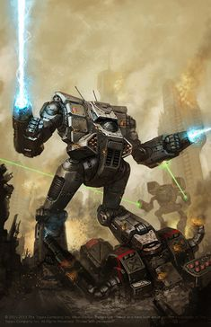 Battletech Fire for Effect cover by BrotherOstavia.deviantart.com on @deviantART
