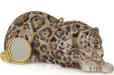 Judith Leiber Crystal Clutch handbag