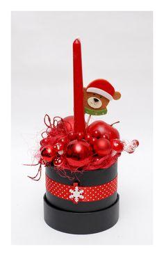 The Christmas box - red Christmas Time