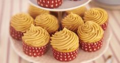 This week's recipe is for Salted Caramel Cupcakes