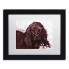 Lowell S.V. Devin 'Windy' Matted Framed Art