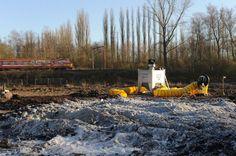 Réhabilitation du site UCB à Mons/Le Roeulx #spaque #remediation #rehabilitation #fricheindustrielle #brownfields