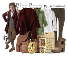Disney Bound - Bilbo Baggins (The Hobbit) Disney Themed Outfits, Disney Bound Outfits, Character Inspired Outfits, Fandom Fashion, Fandom Outfits, Casual Cosplay, Geek Chic, Disneybound, Disney Style