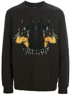 GIVENCHY - Doberman print sweater 6