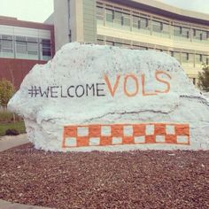 WELCOME VOLS FANS!