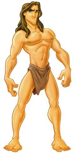 Image result for tarzan cartoon character