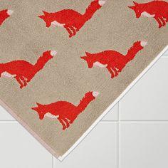 Buy Anorak Proud Fox Bath Mat Online at johnlewis.com £20.00