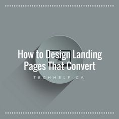 Web traffic is important but when our landing pages lack certain key elements that encourage user behavior, we convert and sell less. You've got traffic but are your visitors converting? This guide will teach you the elements of great landing pages that convert.
